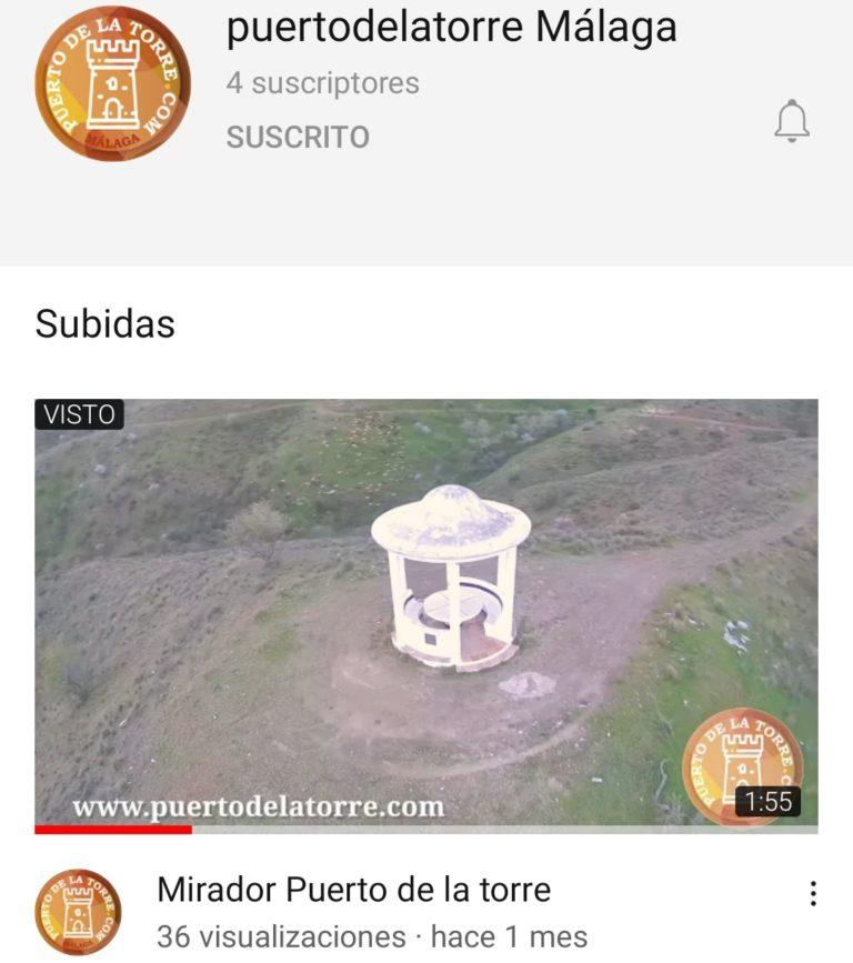 Puerto de la torre Youtube